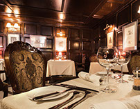 "Restaurant ""Lipsky"". Interior."