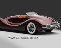 Vector -1948 Norman E. Timbs Buick Streamliner
