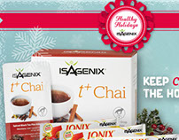 Healthy Holiday Product - Social Media Campaign