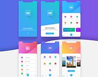 Maps & Navigation app UI UX design