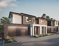 Town House Render
