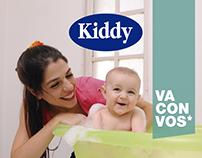 Tríptico de productos Kiddy