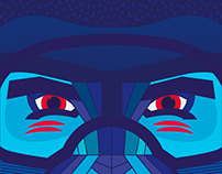 Kustom Skis_Gorilla Edition (Topsheet)