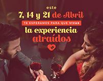 Atraídos (fast dating) - Facebook posts