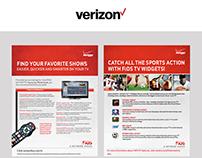 Verizon Collateral Design