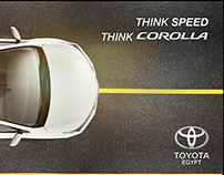 "Toyota Corolla ""Think Speed"""