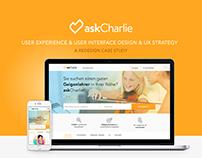 askCharlie UX/UI Design & Strategy
