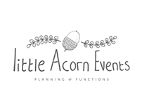 Little Acorn Events Branding