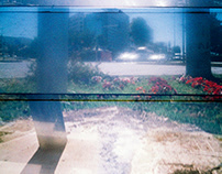 Smudgy lens on Lomo Supersampler.
