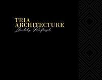 TRIA Architecture - Brand Identity