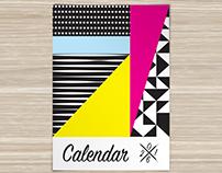 Shape Calendar 2016