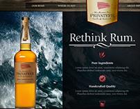 Privateer Rum Website