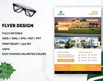 House Sell Flyer Design