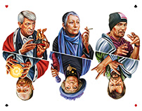 Cards for Openspace, portraits for Compass