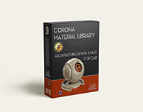 Corona material library for C4D Architecture Edition 2