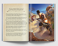 Role Playing Game Book - Graphic Project
