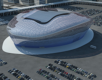 Futuristic Stadium Design