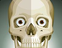 Skull - Flatdesign