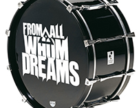 Logo concept BAND: For All Whom Dreams ( Graphic D)