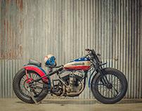 The Captain America Harley
