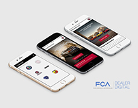 FCA Digital Dealer - UI/UX
