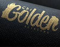 The Golden Scissors Unisex Barber Logo Holland