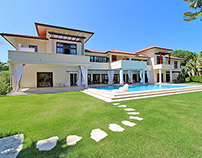 Exclusive Caribbean home in a prestigious beachfront