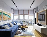 Loft lounge design