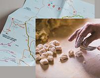 Trattoria Dalla Santa | Branding + Tourist Map