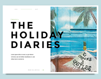 Blog / Editorial Designs