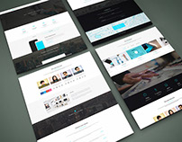Freebie - Perspective Website PSD Mock-Up