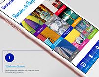 Deutsche Bank Adobe DPS App/UI