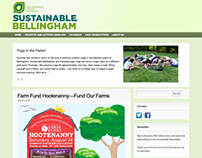 Web Design - Sustainable Bellingham (2012)