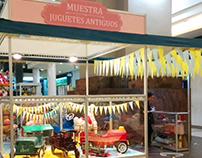 Muestra de Juguetes Antiguos en Punta Carretas Shopping