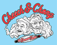 Cheech & Chong - Dream Team T-Shirt