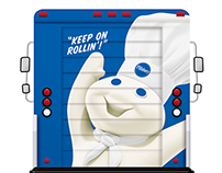 Pillsbury Rollin' Doughboy Food Truck