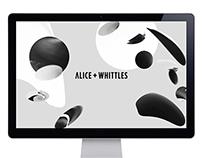 Alice + Whittles Website