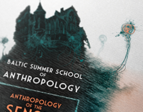 """Poster for """"Baltic Summer School of Anthropology 2013"""""""