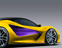 2020 Lotus Evija Yellow