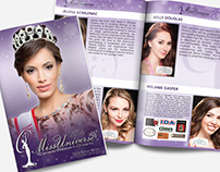 Miss Universe CWO 2016 Show Guide Booklet