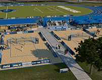 Track and Beach Court - UNO Concept 2020