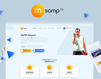 M-SAMP.RU Project redesign