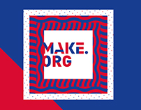 MAKE.ORG branding and Identity