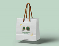Design The Jewelry with Persian Alphabet(Shopping Bag)
