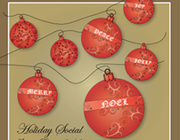 Frazier Holiday Social Invite