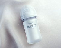 PHILIPS AVENT Silicon Coated Bottle