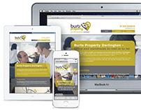 Branding & Website Design: Burts Property