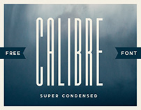 (FREE FONT) CALIBRE SUPER CONDENSED