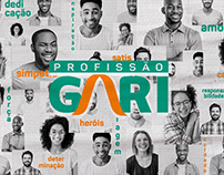 Dia do Gari Grupo Marquise | Identidade Visual