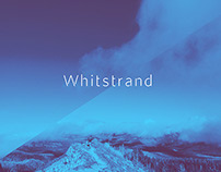 Whitstrand Display font
